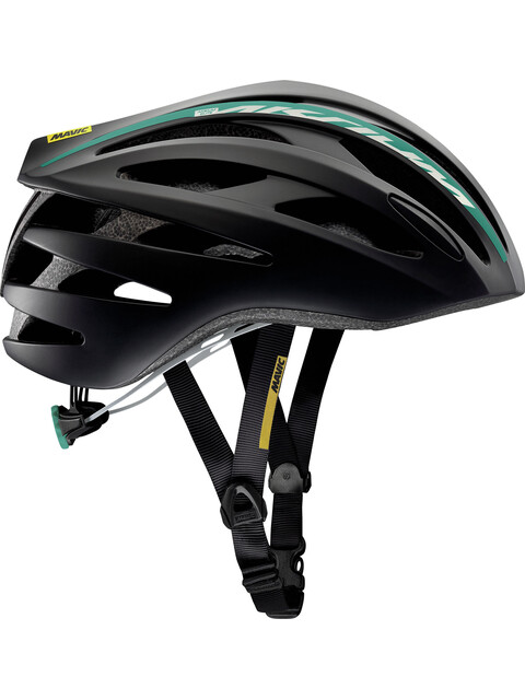 Mavic Aksium Elite Helmet Women Black/Moorea Blue